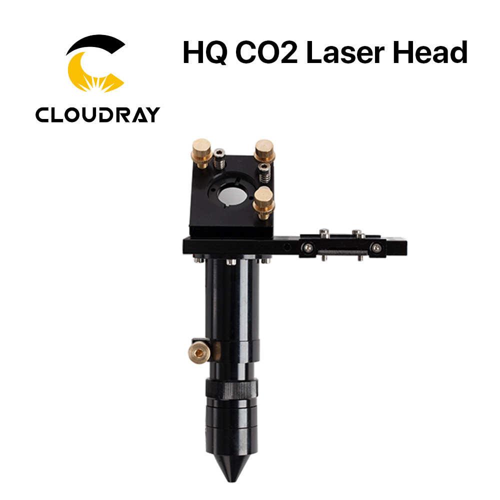 E Serie: co2 Laser Laser Kopf für Objektiv D20mm FL50.8 & 63,5 & 101,6 & 127mm Spiegel 25mm für Laser gravur Schneiden Maschine