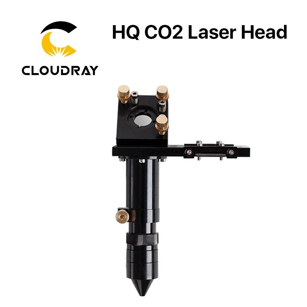 Aletler'ten Ağaç işleme Makine Parçaları'de E serisi: co2 lazer lazer kafası Lens için D20mm FL50.8 & 63.5 & 101.6 & 127mm ayna 25mm lazer gravür kesme makinesi