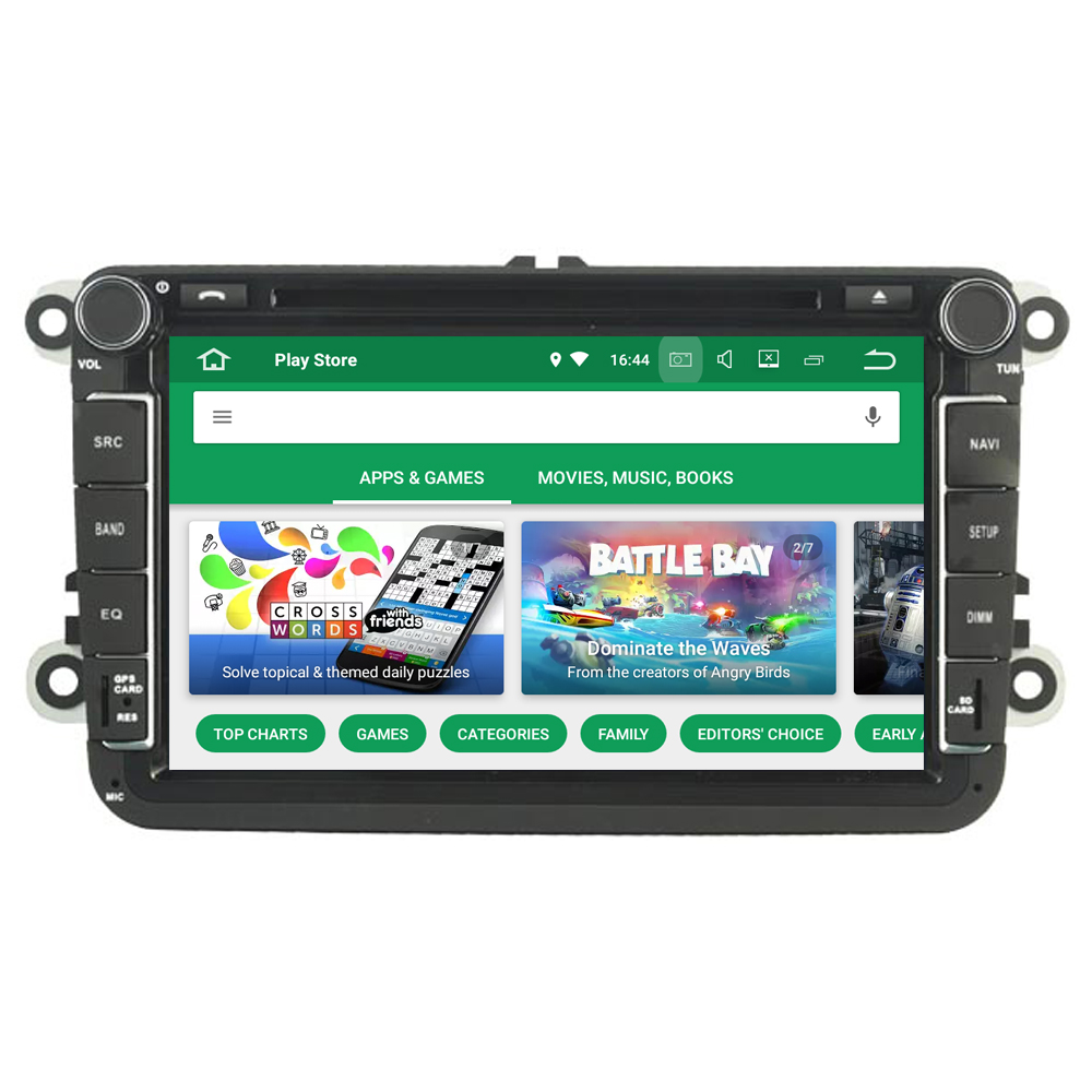 For VolksWagen For VW Caravelle 2011 2012 Android 9.0 Autoradio Bluetooth Radio DVD GPS Navigator Media Bluetooth Headunit