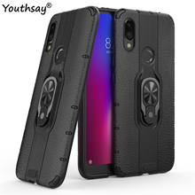 For Xiaomi Redmi 7 Case TPU+PC Phone Finger Holder Shockproof Hard Bumper Cover Youthsay