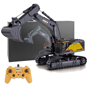 surwish 1:14 22CH 2.4G RC Excavator Engineering Vehicle Model Alloy Construction Truck
