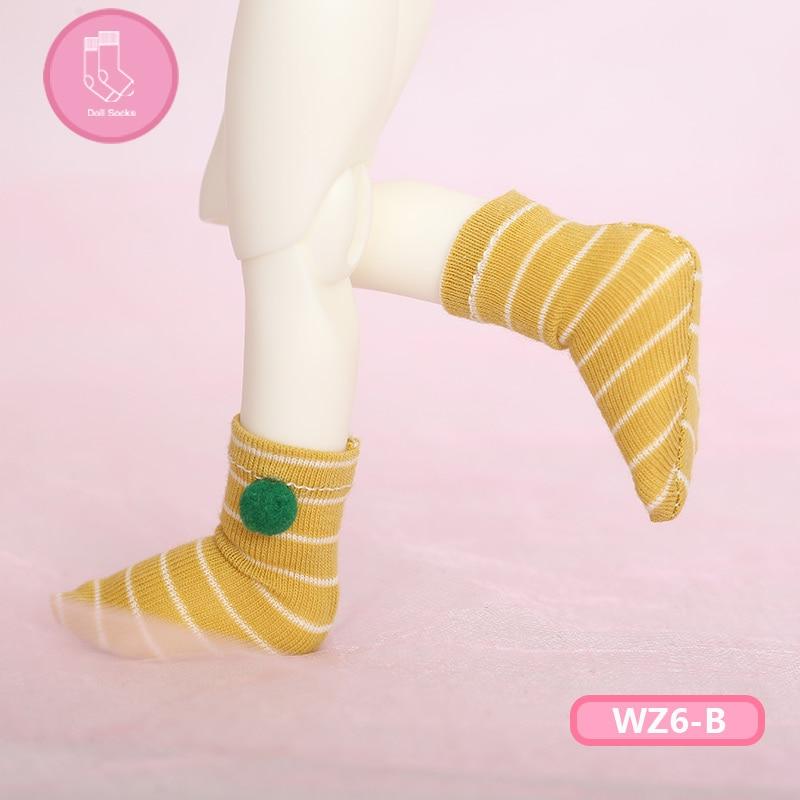 Short Socks For BJD Doll 1 Pair Of Socks Fashion Mini Toy Socks For 1/6 Bjd Doll