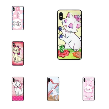 For Huawei P40 P30 P20 P10 P9 P8 Lite Plus Pro P Smart 2017 2019 Wholesale Black Soft TPU Accessories Case Aristocats Marie image