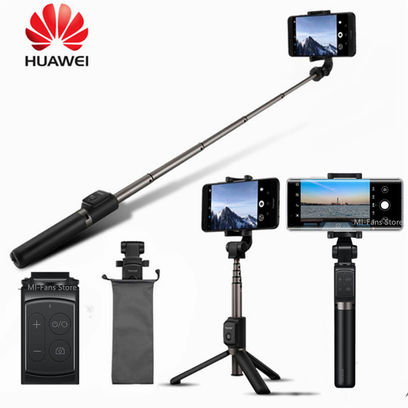 Оригинальная селфи-палка Huawei AF15/Pro с Bluetooth, портативный монопод с беспроводным управлением, ручной монопод для телефонов iOS/Xiaomi