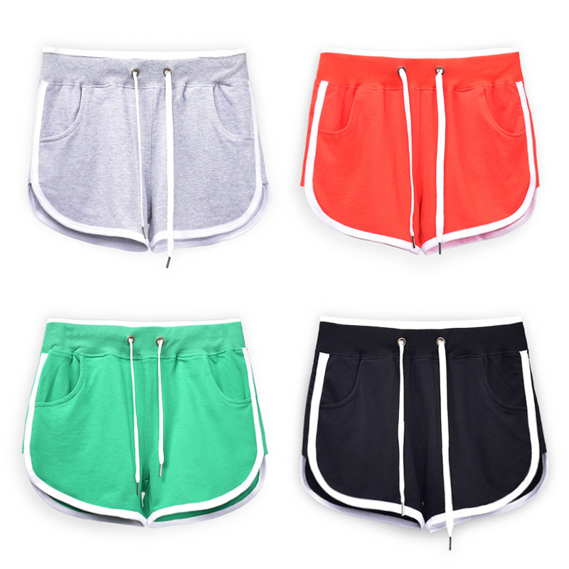 LXS22 2020 New Women's Summer Thin Cotton Non-Curly Loose Shorts
