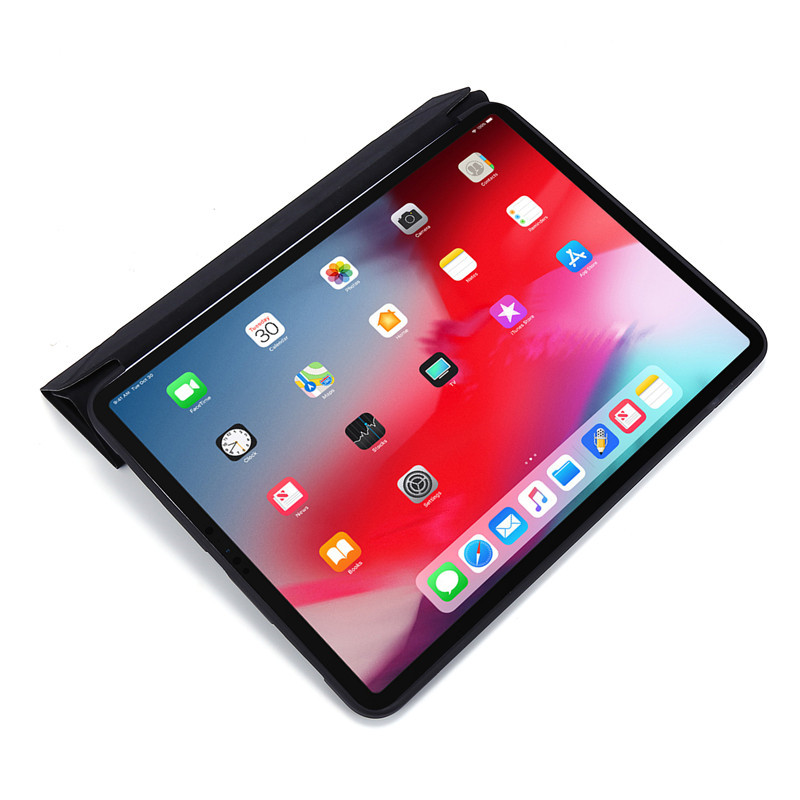 Back 11inch Case Green Smart-Cover Pink iPadpro Soft-Silicone Rose-Gold Magnetic for