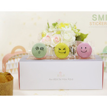 90Pcs/pack Smiley Transparent Self-adhesive Baking Packaging Stickers Party Favor Gift Bag Sealing Stickers 90pcs pack for you candy color sealing sticker stationery gift bakery stickers cookies label supply
