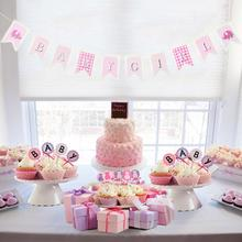 Baby Shower Boy/Girl Decorations Baby Girl Baby Boy Banner Kids Birthday Party Decorations Boy Girl Gender Reveal Party Supplies baby shower boy girl decorations set it s a boy it s a girl oh baby balloons gender reveal kids birthday party baby shower gifts
