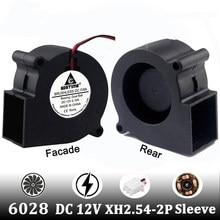 Gdstime 1 pces 3 polegada 6cm 60x28mm sem escova exaustão refrigerador de refrigeração 60mm ventilador dc 12 v 2 fio 2pin 6028 ventilador centrífugo