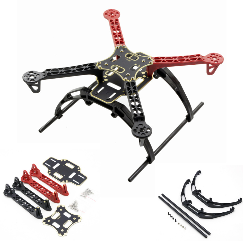 FPV F330 MultiCopter Frame Airframe Flame Wheel Kit With Landing Gear 330mm For KK MK MWC 4 Axle RC Quadcopter UFO
