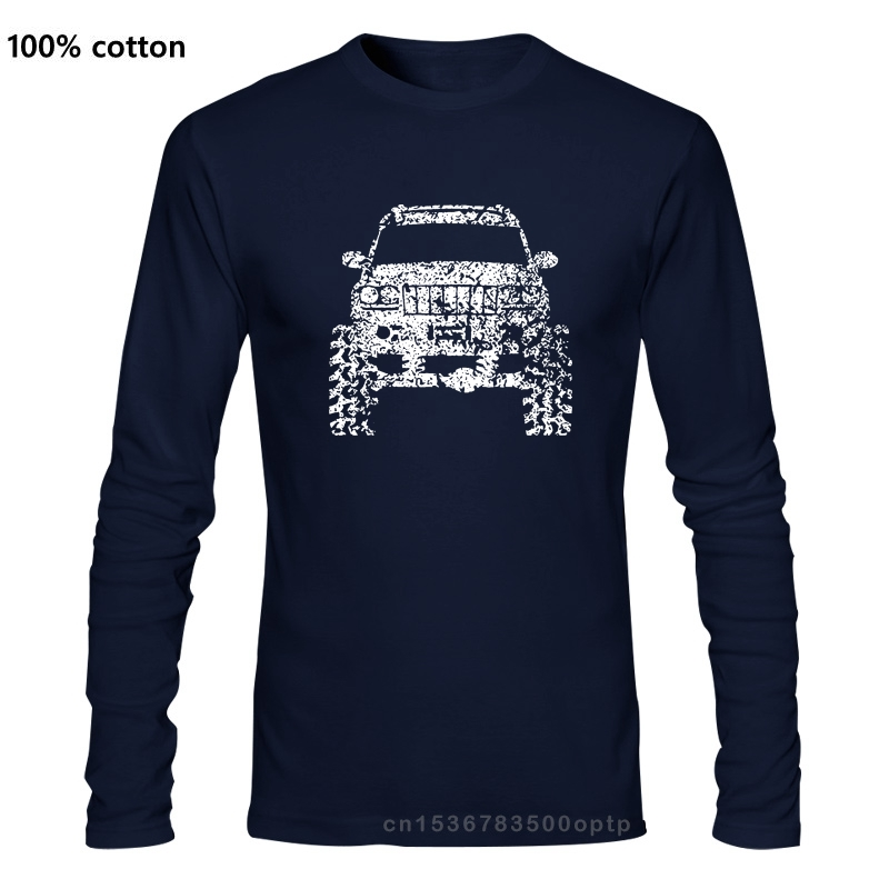 2018 Хлопковая мужская одежда с длинным рукавом Grand Cherokee WJ, футболка 4X4