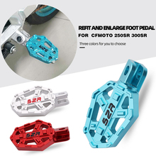 Motorcycle Billet Foot Wide Pegs Pedals Rest Footrests For CFMOTO NK150 250SR NK650  Front Foot Nail Seat Pedal