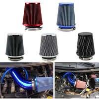 Universal Air filter 76mm 3 Zoll High Flow Auto Cold Air Intake Filter Aluminium Induktion Induktion Schlauch Rohr pilz kopf
