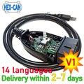 2021 HEX-V2 VAG COM 20,4 VAGCOM шестигранный V2 USB Интерфейс для VW AUDI Skoda сиденья неограниченное количество VINs
