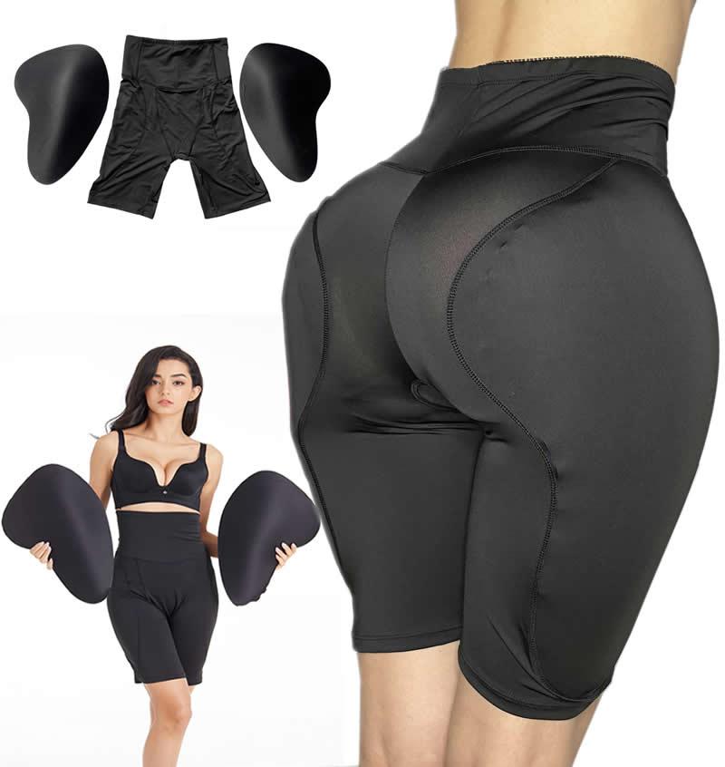 Комплект одежды из 2 предметов: с высокой талией Губка Мягкий Для женщин Батт Хип До Мягкий муляж женской груди Трансвестит
