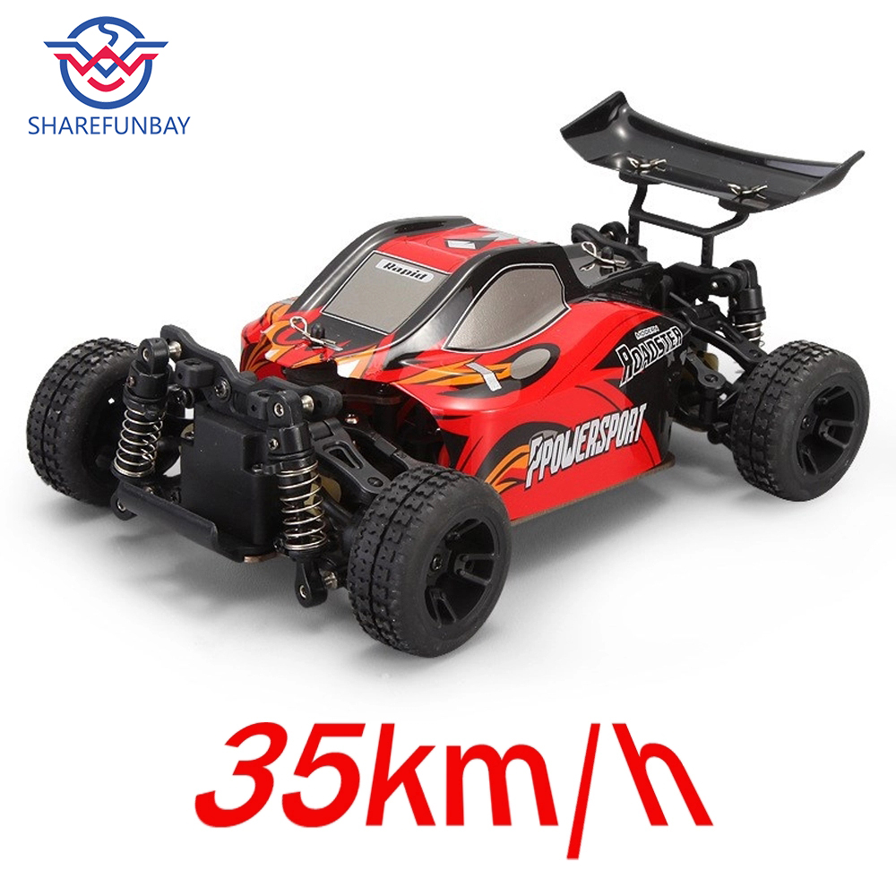 Wltoys A202 Remote Control Car 1:24 Electric 4wd Remote Control Car 2.4G Remote Control Desert Off-road Vehicle Drift Speed 35km