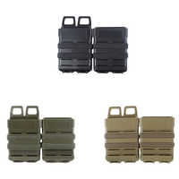 MG-02 Outdoor Abay Tactical M4 5.56 FastMag Molle Pouch Military Wargame Airsoft Fast Mag Holder Hunting Pistol Magazine Pouch