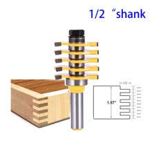 Chisel-Cutter Finger-Joint Tools Router-Bit Groove Cabinet-Door Woodworking Tongue Flooring