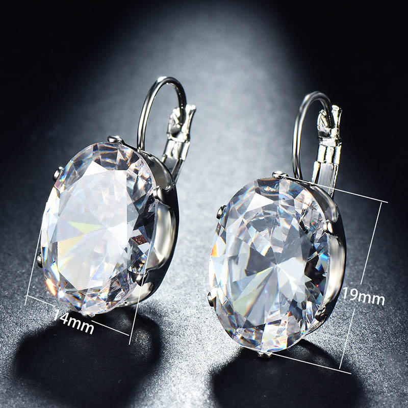 H7b0702fbb96d4d16b7de7a921e5602ffR - Cellacity Korean 925 silver Earrings with oval citrine gemstone  Engagement Earrings Drop Earrings For Women Jewelry wholesale