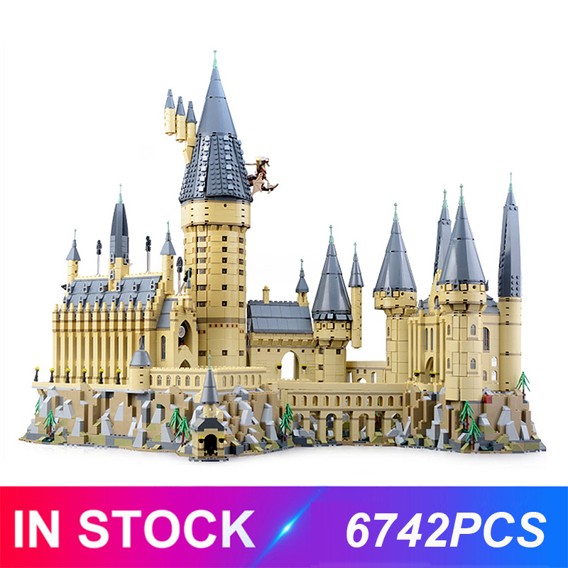 16060 Harri Magic School Series Castle Compatible with 71043 Building Blocks Bricks Educational Toy Birthdays Gifts For Chlid