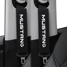 2 sztuk zestaw stylowy fotel samochodowy pas pasek na ramię Pad dla Ford Mustang 2015-2019 pokrowce na fotele akcesoria samochodowe tanie tanio Protection and decoration GH-06 HG36 CHINA Car interior accessories 26cm cotton VD126