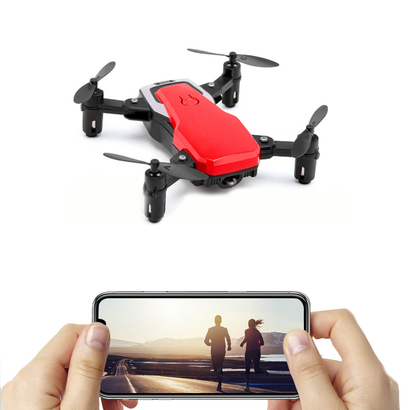 Cross Border New Style Mini Unmanned Aerial Vehicle Folding High-definition Profession Aerial Remote-control Aircraft Return Qua