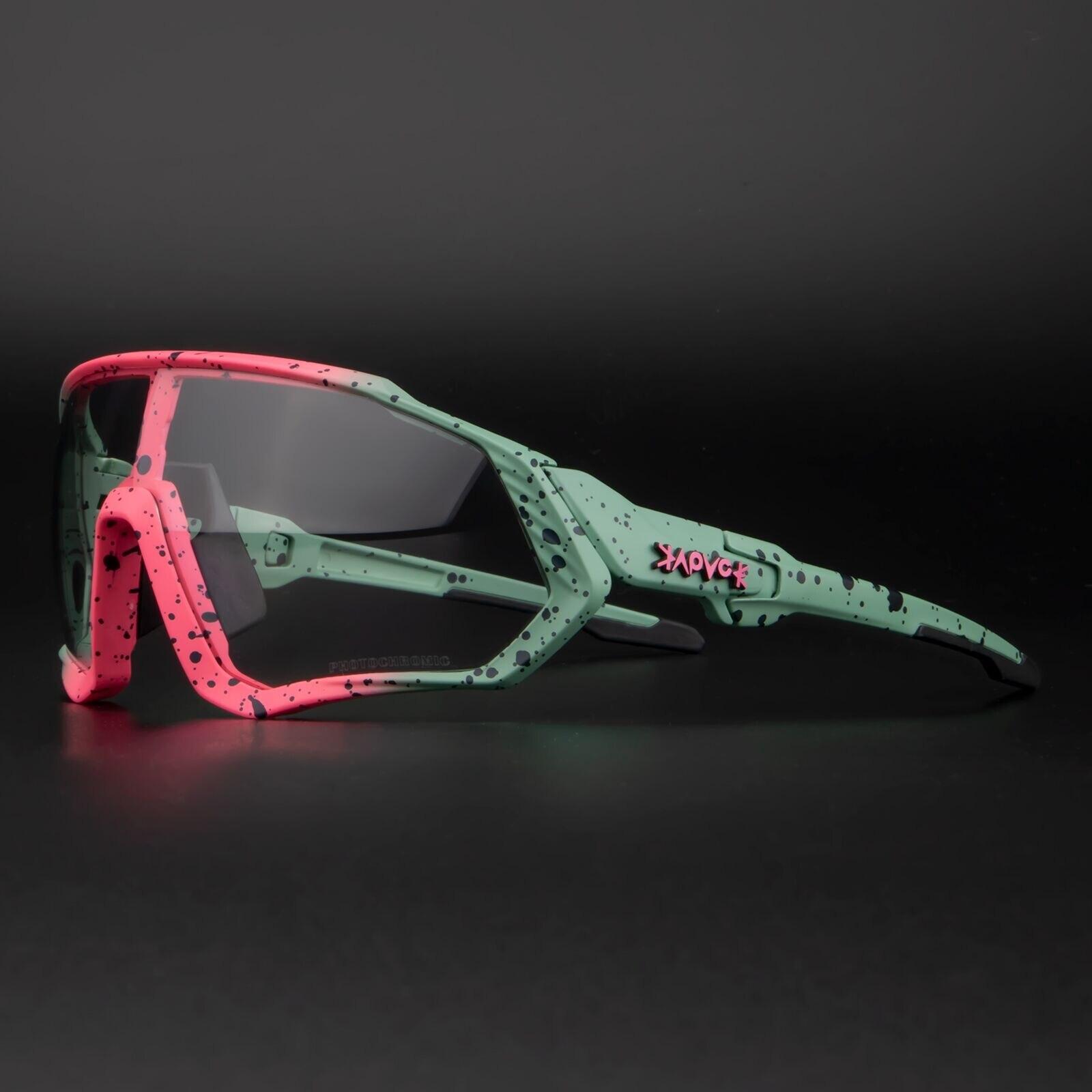 Occhiali da Ciclismo fotocromatici uomo e donna sport all'aria aperta occhiali da bicicletta occhiali da sole per bici occhiali occhiali Gafas Ciclismo 1 lente 1
