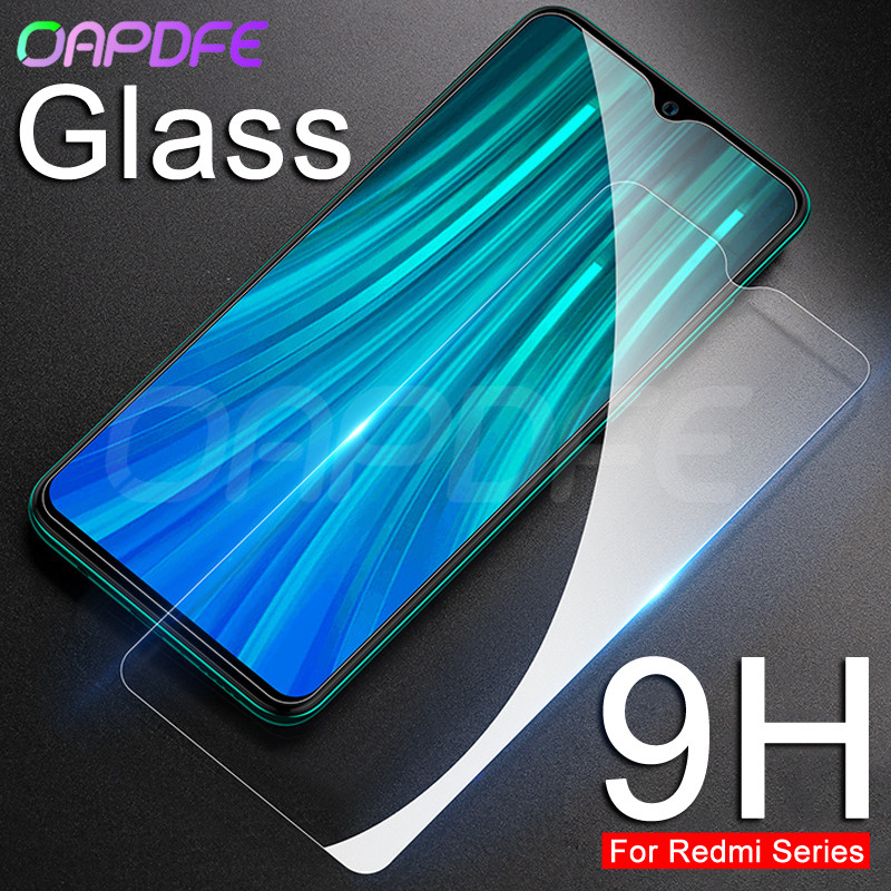 9H Protective Glass On The For Xiaomi Redmi 8 8A 7 7A 6 Pro 6A Go K20 Redmi Note 8 7 6 Pro Tempered Screen Protector Glass Film