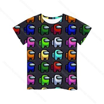 Cartoon Tee  Baby Kids Boys Girls Children Short Sleeves Summer Clothing Fashion 3d Print Toddler Camiseta 15