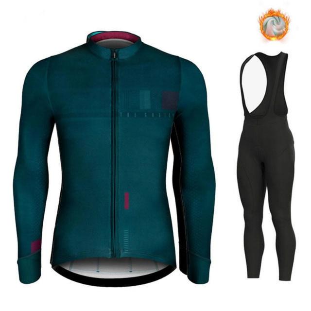 2020 zimowy gorący wełniany kombinezon rowerowy, męski kombinezon rowerowy, outdoorowa odzież sportowa, MTB Bike Bike Uniform Cycling Kit Triathlon Gobikeful