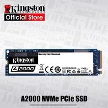 Kingston A2000 NVMe M.2 2280 PCIe SSD 250GB 500GB 1 테라바이트 내부 솔리드 스테이트 드라이브 하드 디스크 SFF PC 노트북 Ultrabook