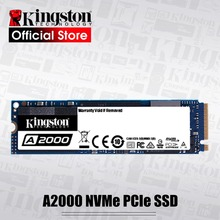 Kingston A2000 NVMe M.2 2280 PCIe SSD 250GB 500GB 1TB Internal Solid State Drive Hard Disk SFF For PC Notebook Ultrabook