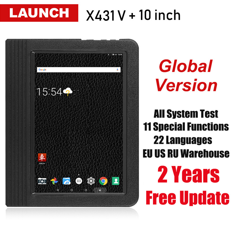 Launch X431 V V Plus 10 1 inch Auto Diagnostic Tools Full System OBD2 Automotive Scan
