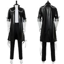 My Hero Academia Dabi Cosplay Costume Black Jacket Halloween Suit Coat
