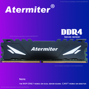 Image 4 - Atermiter X99 D4 DDR4 اللوحة مجموعة مع زيون E5 1620 V3 LGA2011 3 CPU 1 قطعة X 16GB = 16GB 2400MHz DDR4 REG ECC ذاكرة عشوائية