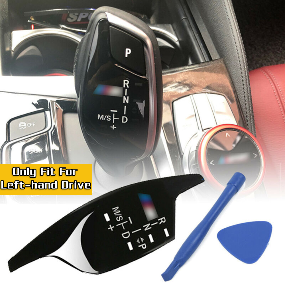 Gear Shift Knob Panel Sticker Trim High Quality ABS Material For BMW G30 G38 G02 525530540540730 X3 X4