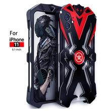 Iphone 11 プロマックスオリジナル ZIMON 耐衝撃ヘビ金属アルミ電話ケース iphone 11/iPhone 11 プロケース