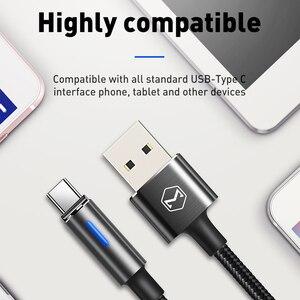 Image 5 - 10 יח\חבילה Mcdodo USB C 2A מהיר טעינת USB C כבל סוג C QC3.0 נתונים כבל טלפון מטען עבור סמסונג S9 + S8 huawei Mate USB חוט