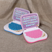 Russian language learning machine mini computer with Alphabet Pronunciation,children learning&educational Laptop toys pink&bule