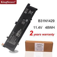Kingsener B31N1429 بطارية لابتوب أسوس A501L A501LX A501L A501LB5200 K501U K501UX K501UB K501UW K501LB K501LX K501L 48Wh