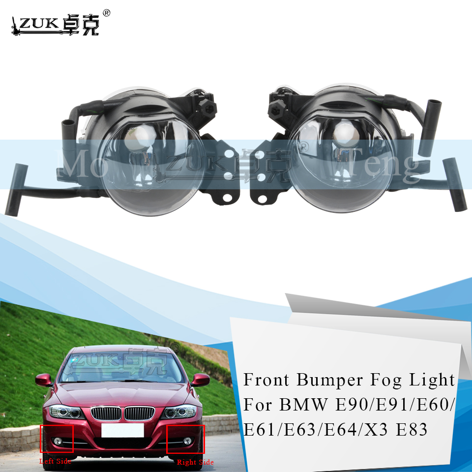 ZUK Fog Lamp Foglamp Fog <font><b>Light</b></font> For 5 SERIES For 630 645 650 E63 E64 For <font><b>BMW</b></font> 3 SERIES <font><b>E90</b></font> E91 Sport Package M For X3 E83 Foglight image