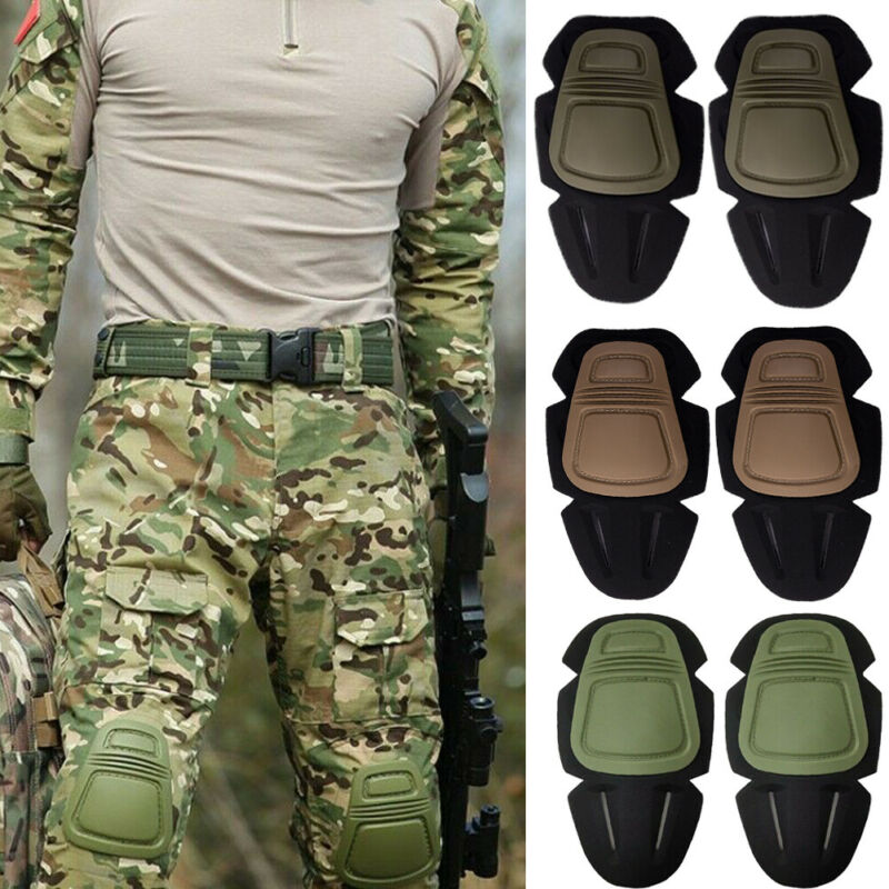 Tactical Paintball Protection Knee Pads Outdoor Sport Airsoft Protection Pads