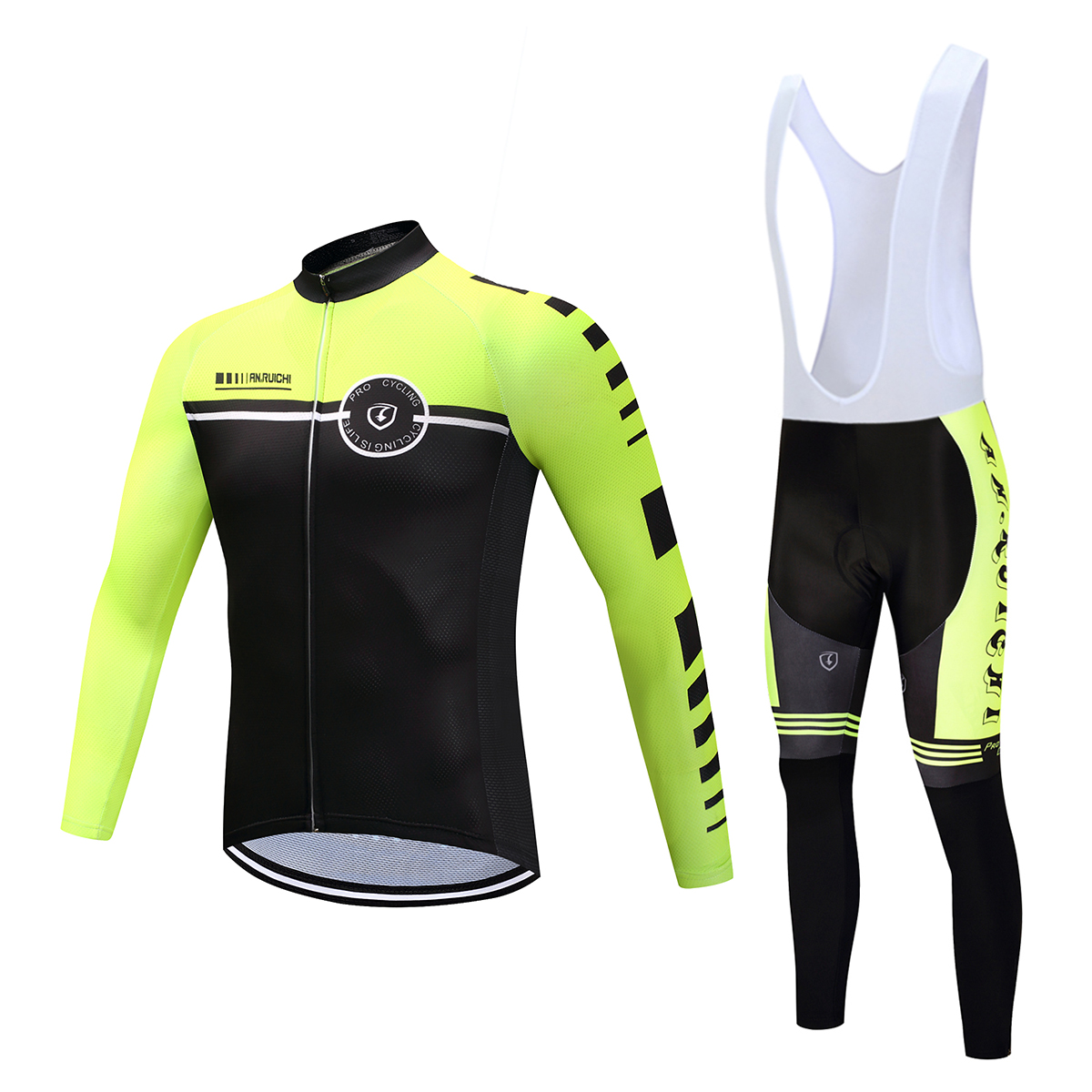 Mavic new professional team Pro Team mens cycling long-sleeved suit mountain racing sportswear Ropa Ciclismo bicycle clothing