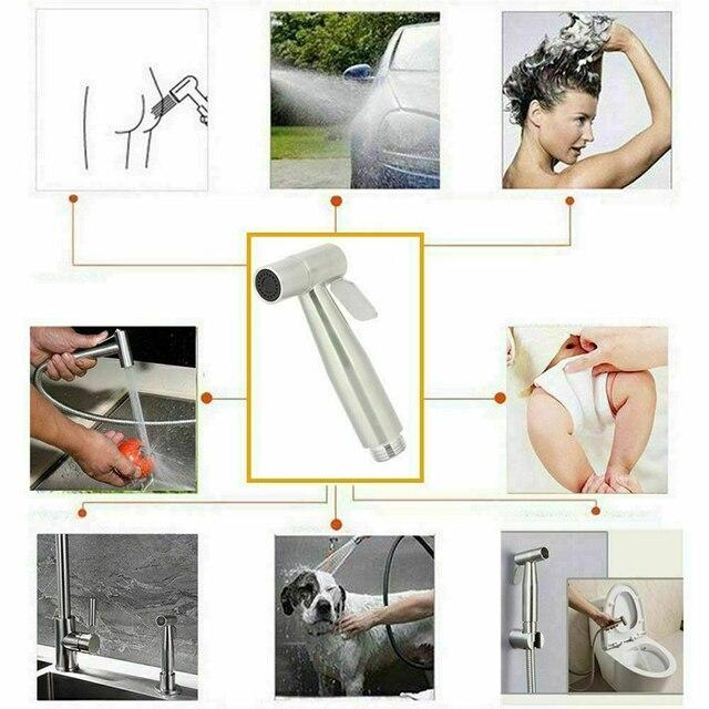 Фото туалет латунь ручной биде спрей душевые головки набор медный цена