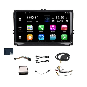 9 Inch Android 8.0 Double 2Din Car Radio Gps Auto Radio 2 Din for Volkswagen/Passat/Golf/Skoda/Seat Wifi Bluetooth 2 Din(with 8G