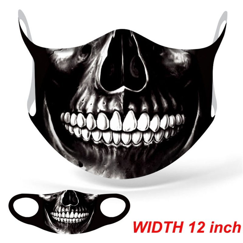 Marvel Superhero Venom Big Mouth Face Mask Adult Windproof Anti Dust Reusable Mouth Mask Washable Halloween Cosplay Face Mask 3