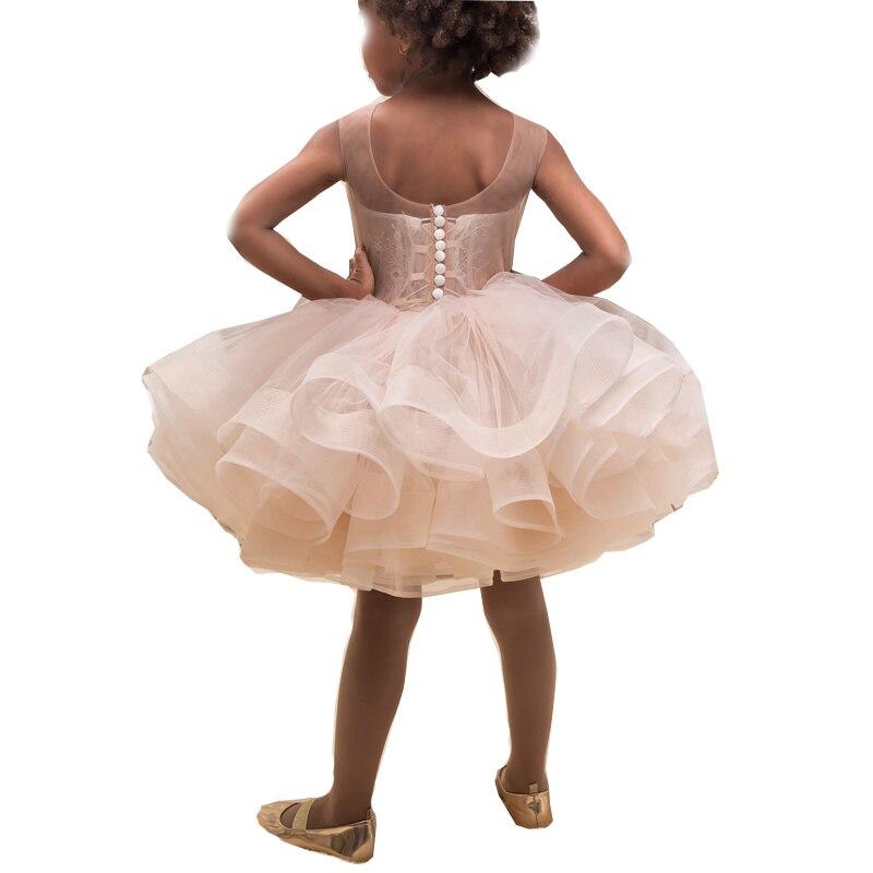Новое поступление; платья для маленьких девочек; красивые Пляжные Платья До Колена Для девочек; Платья с цветочным узором для девочек - 2