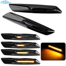 Cặp Đèn LED Xe Hơi Ô Tô Năng Động Bên Ghi Tín Hiệu Đèn Cho Xe BMW E60 E61 E81 E82 E88 E90 E91 E92 E93 blinker Đèn LED Tín Hiệu