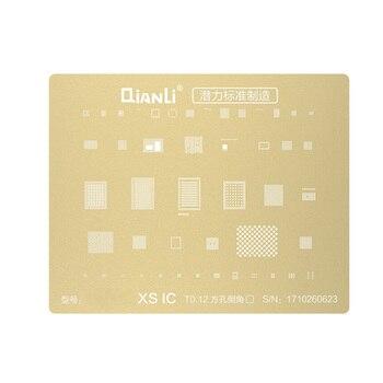 Золотая стальная сетка BGA трафарет материнская плата интегральная микросхема посадки олова шаблон для iPhone XR XS MAX X 8 8P 7P 6S 6SP 6 6P 5s