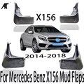 Брызговики для 2014-2018 Mercedes Benz GLA 45 AMG/GLA 260X156 OE брызговики (не использовать во время GLA 200/220/250)